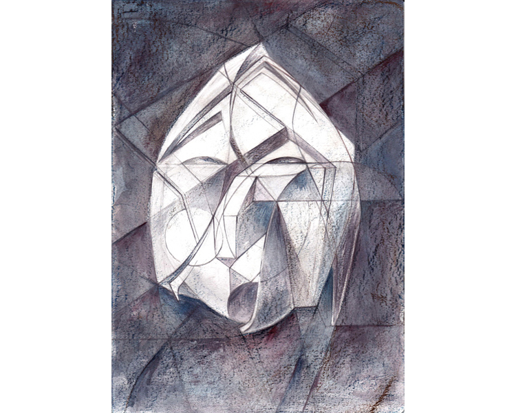 Untitled study 2010 Graphite on paper 30 X 21 cm
